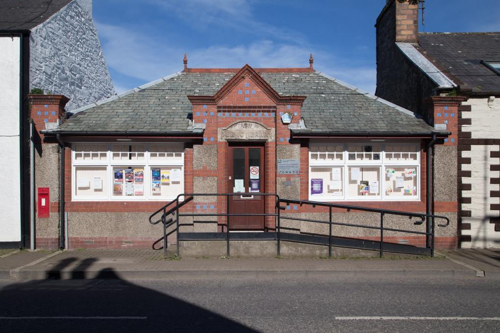 Old Public Library in Whithorn, Scotland