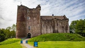 Doune Castle in Doune, Scotland