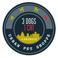3 dogs 1 cat