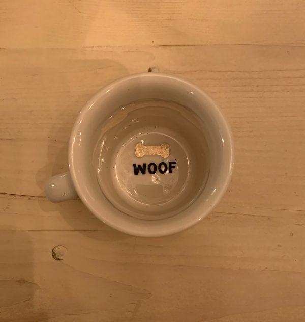 Dog Mom Woof Coffee Mug 2