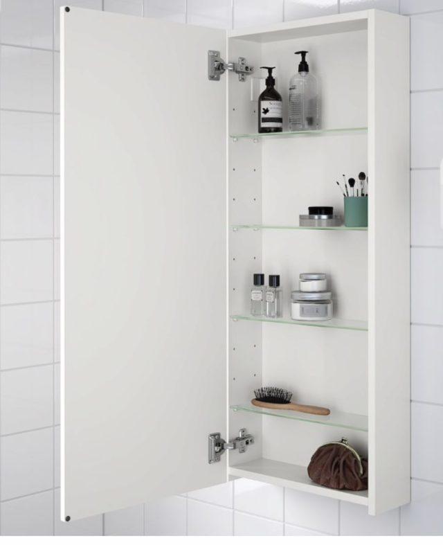Slim profile wall cabinet   Ikea