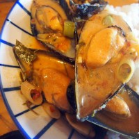 Super Fast Thai Mussel Curry