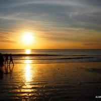 Jumping Jimbaran, Bali. Sunset and Fish Frenzy