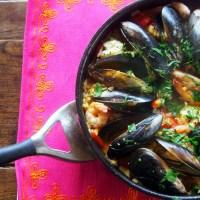 Simple Seafood Paella