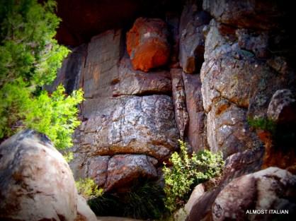 Rock formations, the Grampians, Victoria.