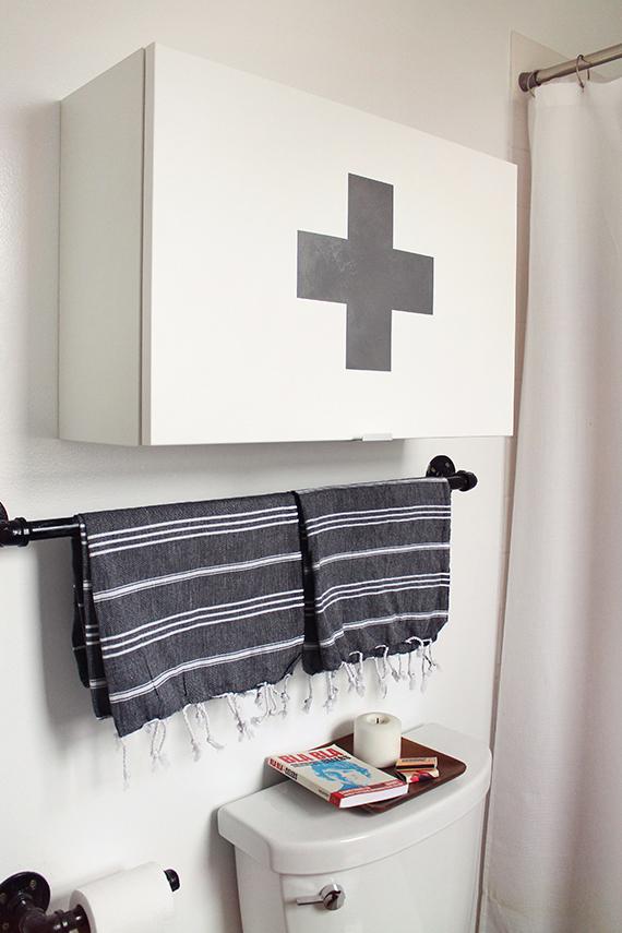 diy ikea medicine cabinet - almost makes perfect