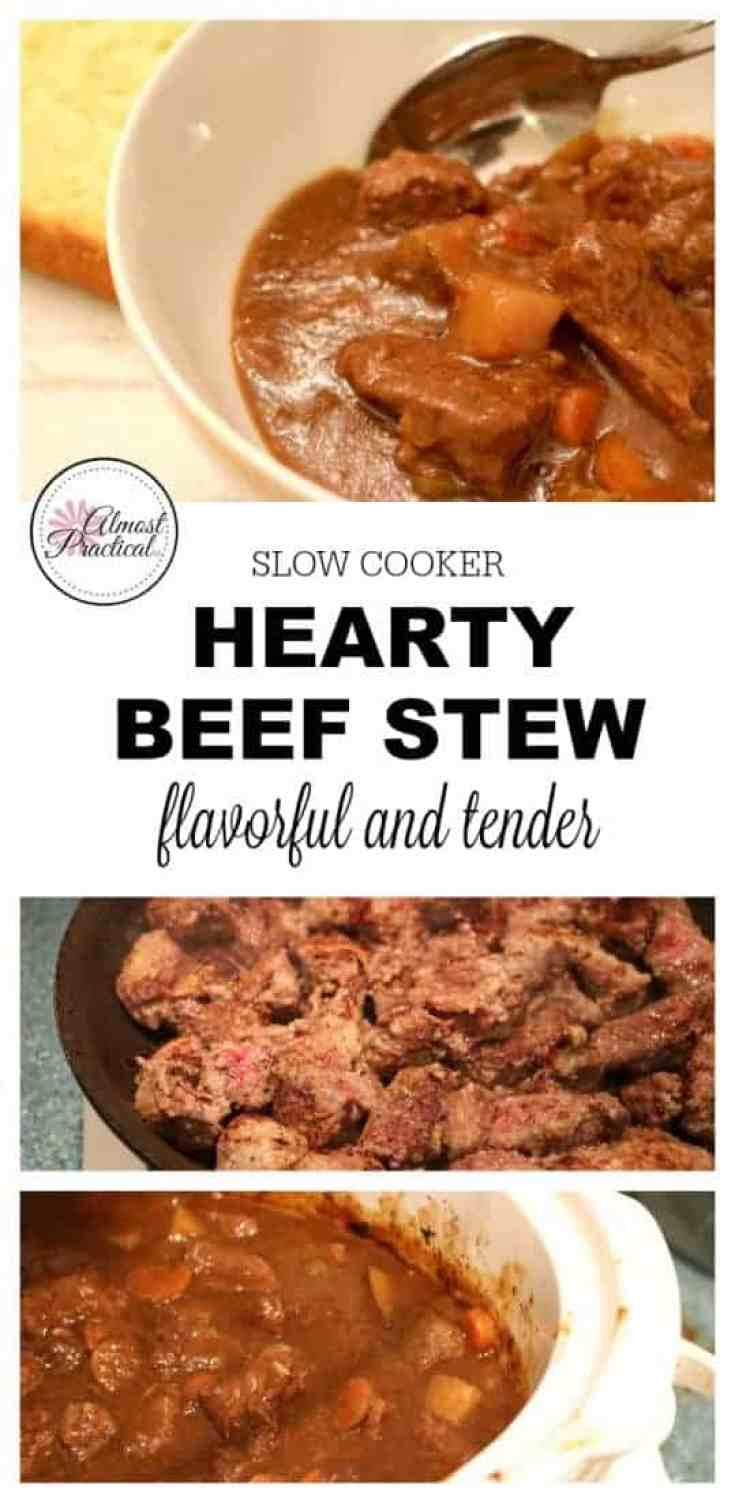 Beef Stew Recipe in the Slow Cooker - Flavorful and Tender