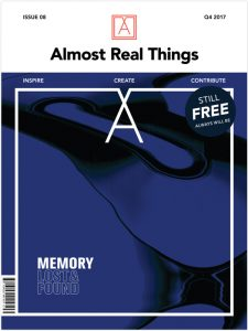 "Almost Real Things Issue 08 ""Memory"" Cover"