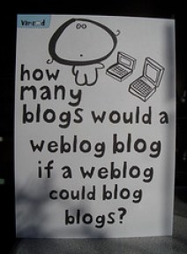 blog weblog image - Blogs: I'll Show You Mine if You'll Show Me Yours