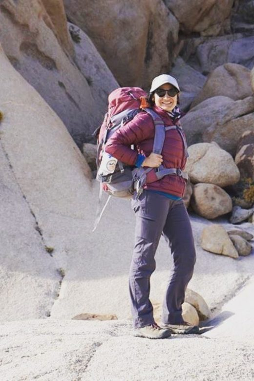 Karla Amador, co-founder of the 52 Hike Challenge