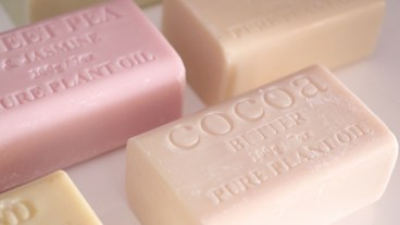 Mixing up the scents with our package free soap - can't pick a favourite!