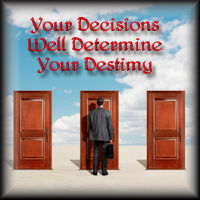 The Decisions We Make Daily Is Our Testimony