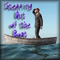 Stepping Out of the Boat and letting God Work