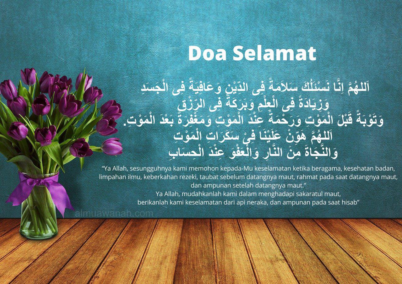 doa selamat