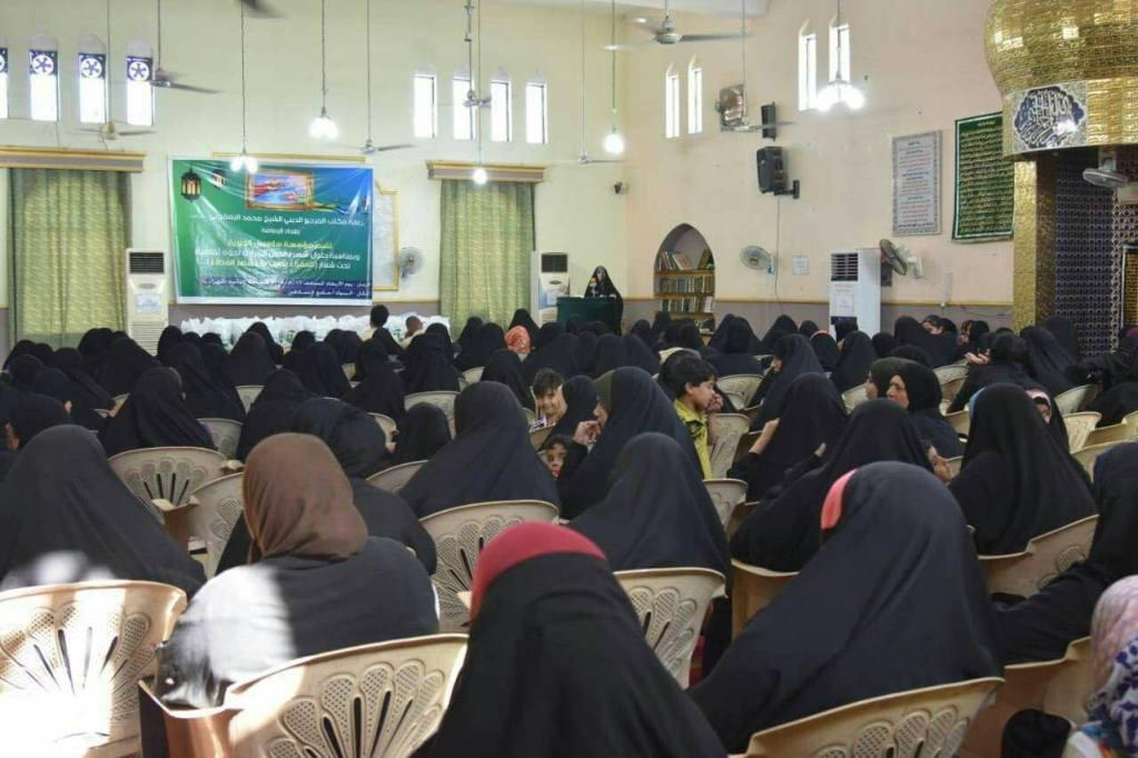 جامعة الزهراء ومجمع المبلغات يتعاونون في مهرجان ابطال كربلاء