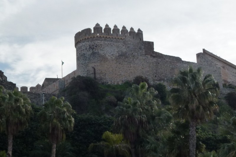 Exploring the San Miguel Castle