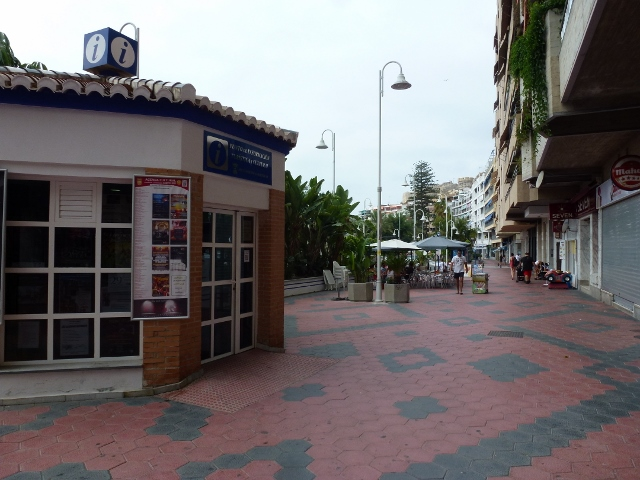 Almuñécar Tourist Office / Tourist Information along the Paseo del Altillo