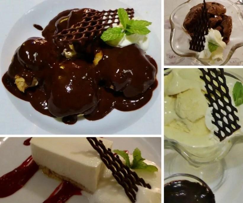 Restaurante El Árbol Blanco Desserts