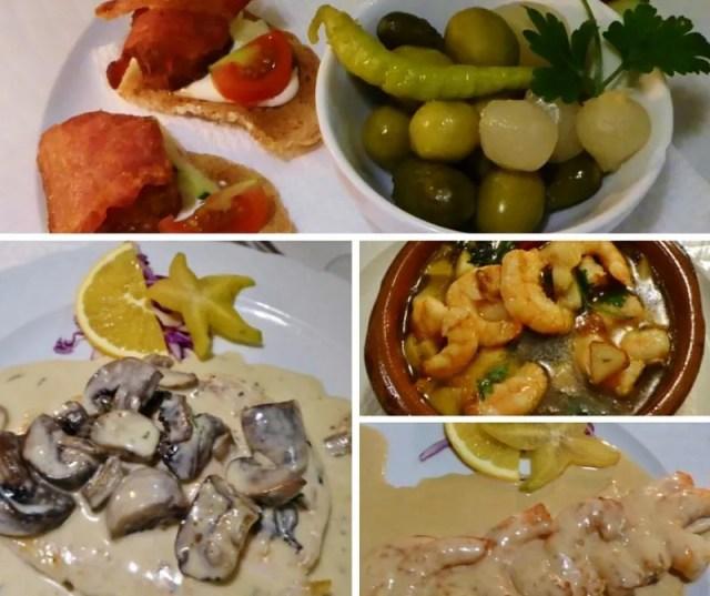 Restaurante El Arbol Blanco Meals and Starters