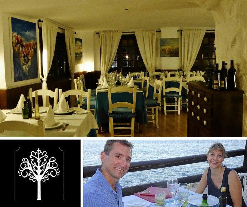 Restaurante El Arbol Blanco - In town and on the beach. Beach photo courtesy of Ed & Jeanne Welter.