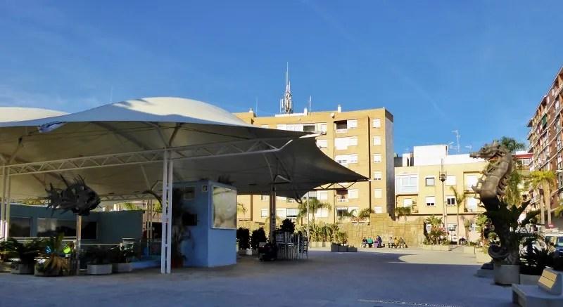 Almunecar Aquarium street view Plaza Kuwait