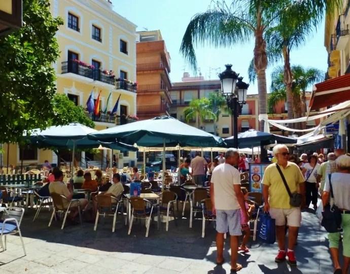 Almunecar Plazas - Plaza de la Constitución