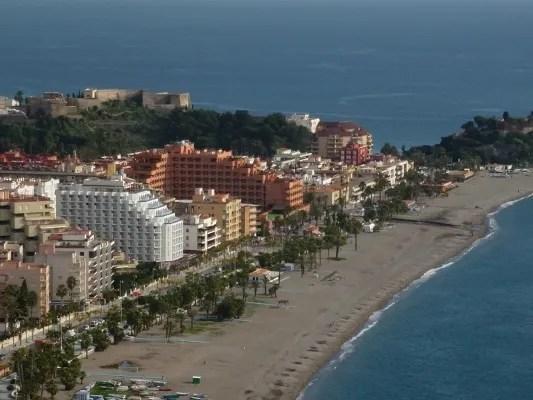 Almunecar Hotel Helios in White and Hotel Playa Senator Spa in terra cotta
