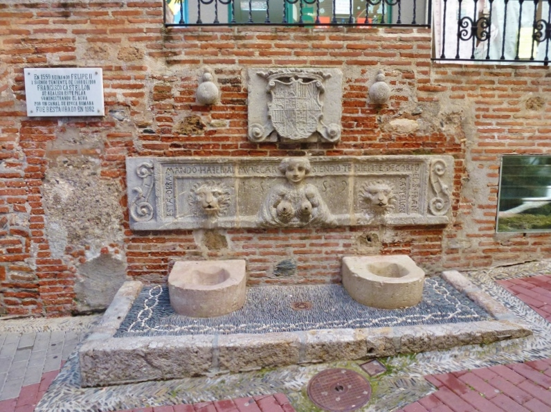 Almunecar Old Town Calle Real Fountain