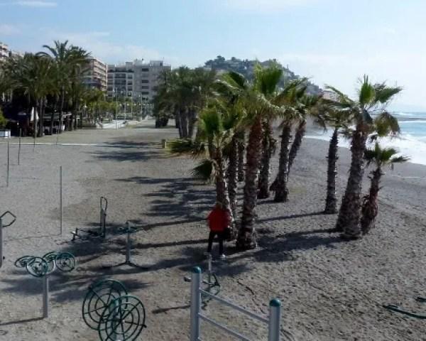 Exercise Equipment Paseo de la Caletilla