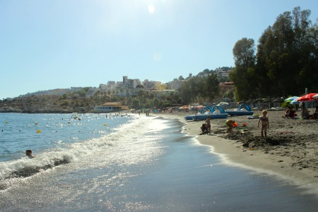 pozuelo-sand beach almunecar