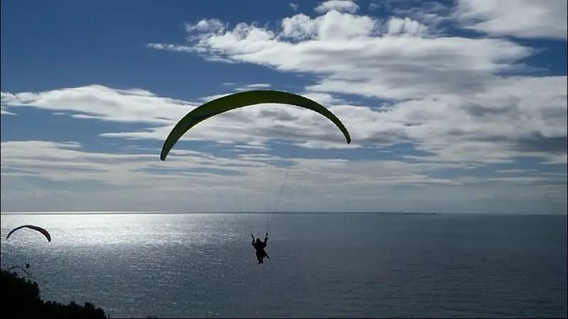 Tandem Paragliding in La Herradura Spain