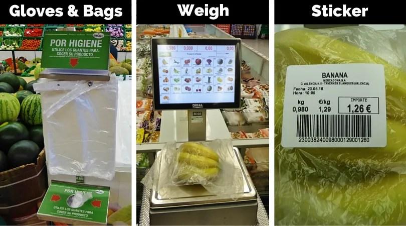 How to buy produce in Spain - Mercadona - Almuñécar Info