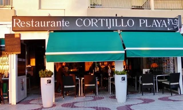 Restaurante Cortijillo Playa Almunecar