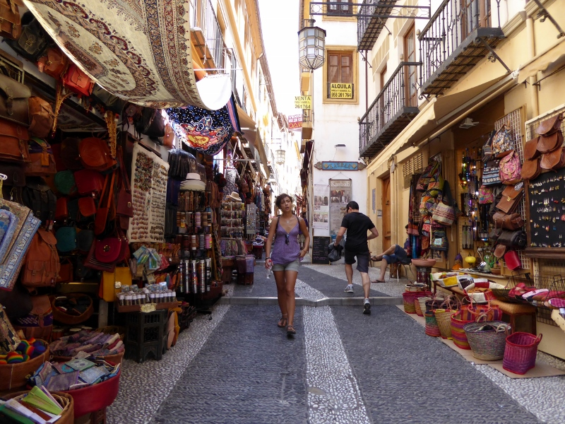 Granada Spain Albaicin or Albayzin