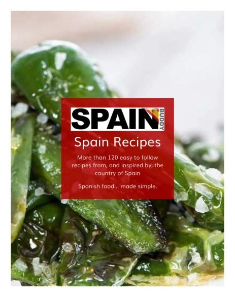 Spain Buddy Recipe book