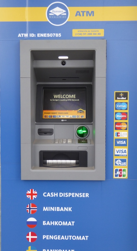 Almuñécar ATM Locations (including Velilla and La Herradura)
