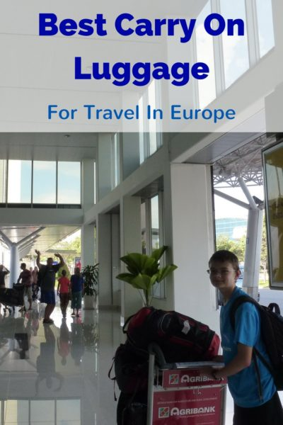 The Best Carry On Luggage For Europe. We also share with you the airline hand baggage and carry on luggage allowance. Read more on AlmunecarInfo.com