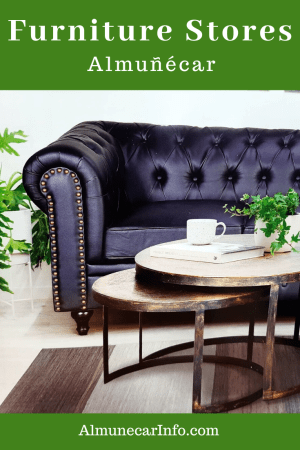 Furniture stores in Almunecar with sofas, couches, dining tables, outdoor furniture, patio furniture, mattresses, beds, bunk beds, armchairs.. Read more on Almunecarinfo.com