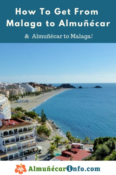 How To Get From Malaga To Almuñécar and La Herradura.  There are many transportation options for getting from Malaga to Almuñécar.  To help facilitate your journey, below you will find a listing along with directions and maps.  The travel time can vary based on mode of transportation chosen as well as time or day of the week.  The Malaga airport code is AGP, click here for more Malaga Airport Information.  We will help you with driving to Almuñécar, taking the bus to Almuñécar, and other transportation options.  Read more on AlmunecarInfo.com