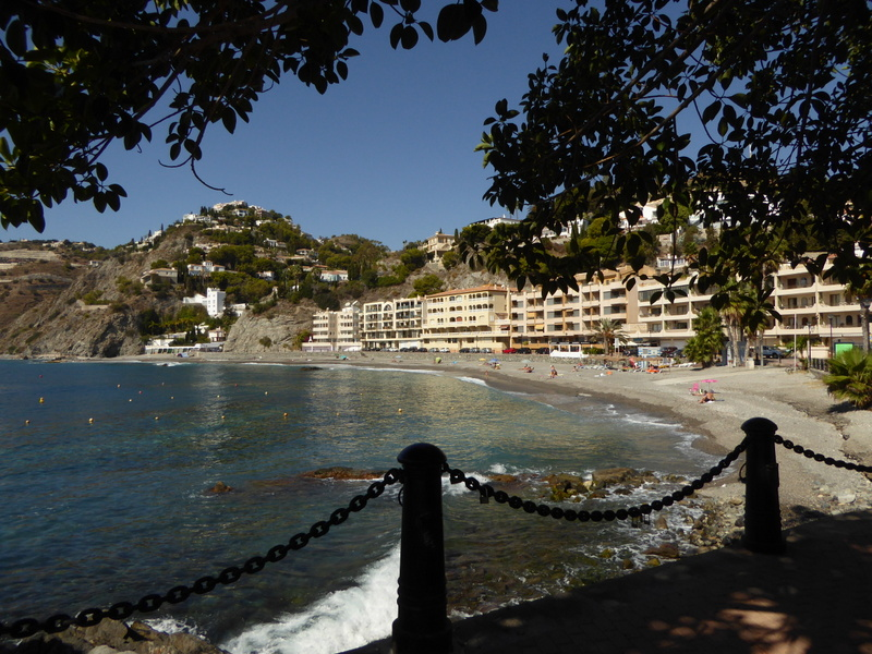 Playa de Cotobro - This Almunecar beach is a hidden gem. Read more on AlmunecarInfo.com