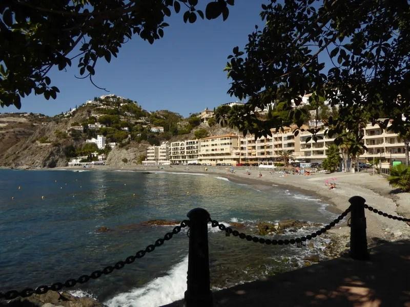 Playa de Cotobro - This Almunecar beach is a hidden gem. Read more on AlmunecarInfo.com