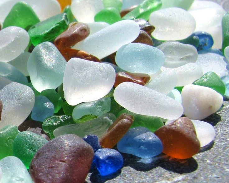 Collecting sea glass in Almunecar and La Herradura