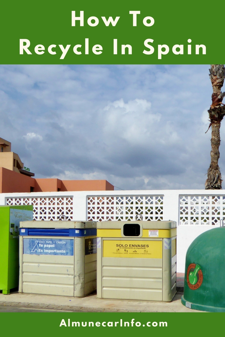 How To Recycle In Spain and What goes in each bin