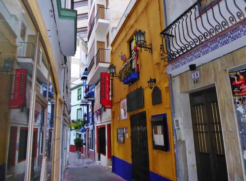 Restaurante La Ventura Flamenco Old Town Almunecar. Just down one of the side allies you will find this hidden treasure, Restaurante La Ventura.  The environment is cozy and a great place to feel the music run through you, while watching the flamenco show. Read more on Almunecarinfo.com