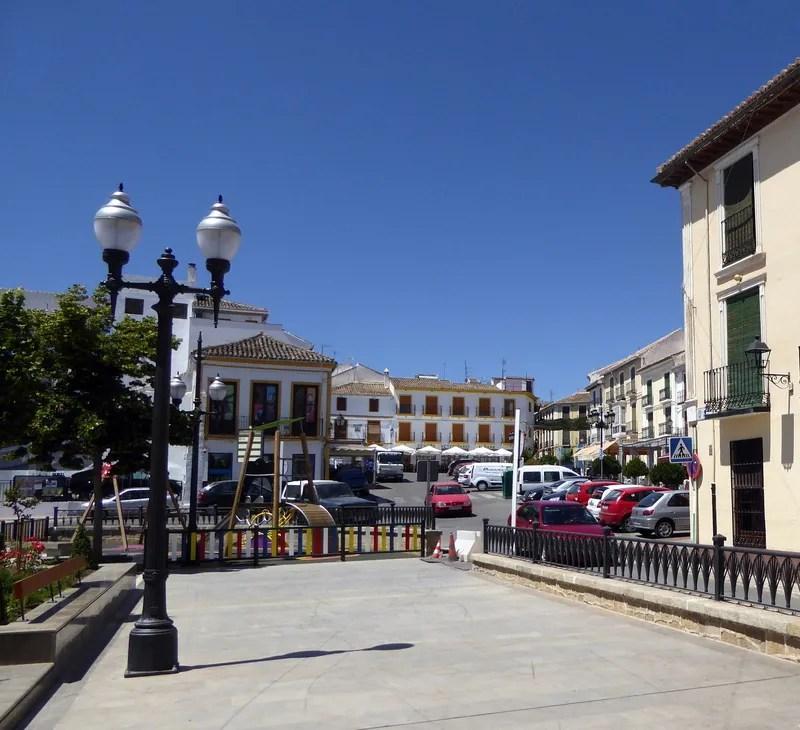 Alhama de Granada town center