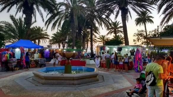 Summer Market Plaza Abderrahman San Cristobal. Read more on AlmunecarInfo.com