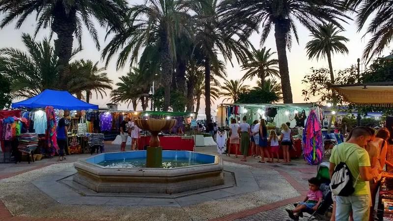 Summer Market Plaza Abderrahman San Cristobal