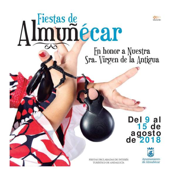 Almuñécar FeriaSchedule 2018 - Fiestas Virgen de la Antigua Almunecar Feria