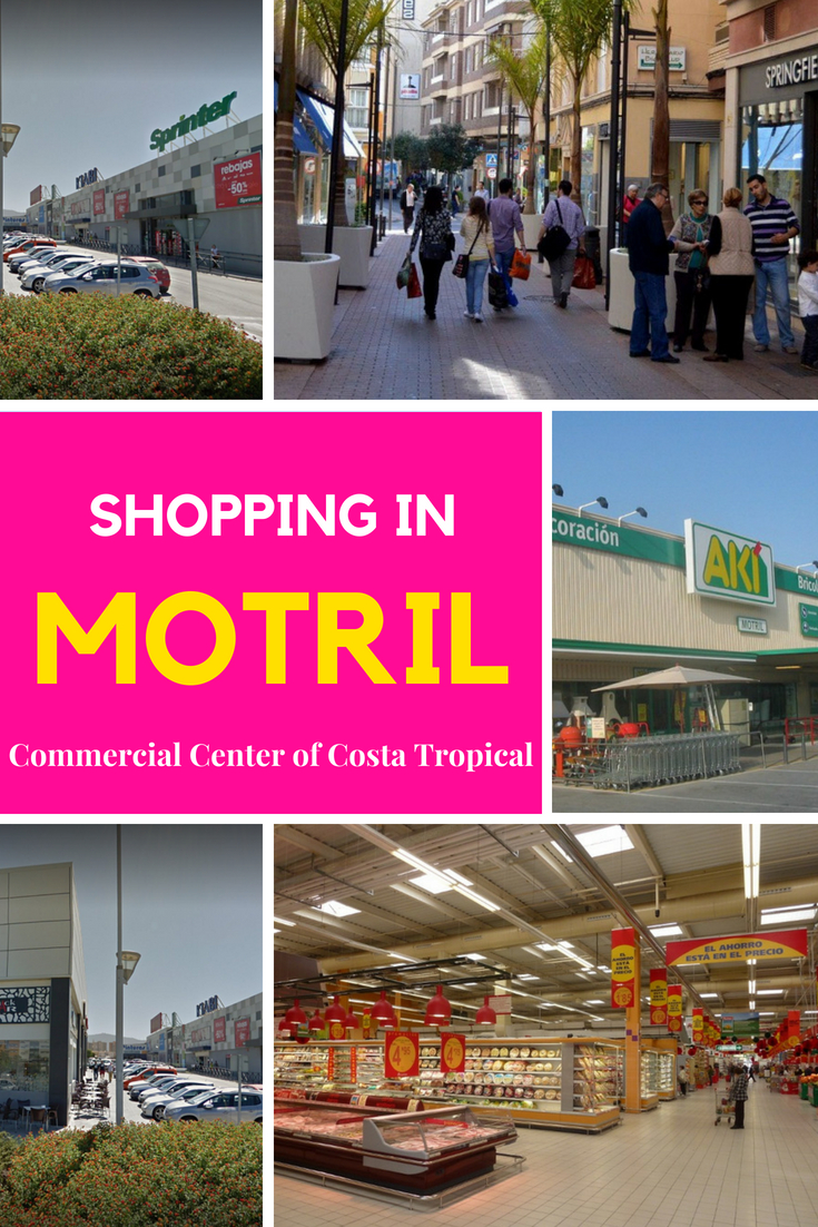 Shopping In Motril Spain Alcampo Leroy Merlin Sprinter