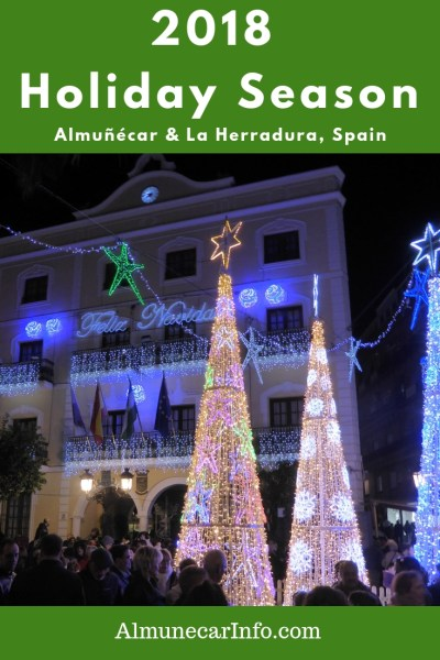 We have compiled a list of things to do for Christmas in Almuñécar & La Herradura 2018 . Including events for January and Los Tres Reyes (The 3 Kings). 2018 holiday season Almuñécar & La Herradura. Read more on Almunecarinfo.com